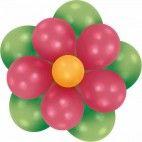 Ballon blomster dekoration sæt