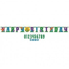 Dinosaur fødselsdag guirlande