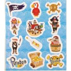 Stickers med pirater lille