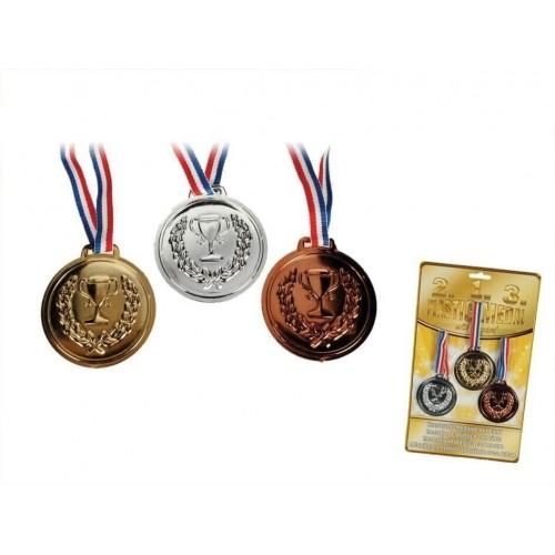 Medaljesæt i plastik