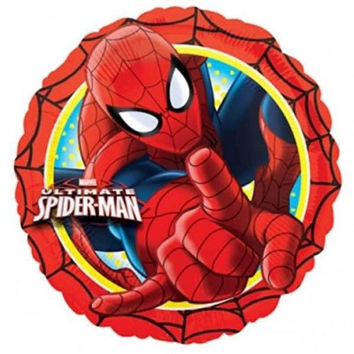 Spiderman folie ballon rund