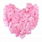 Mini lyserøde stof hjerter