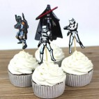Star Wars cupcake pynt