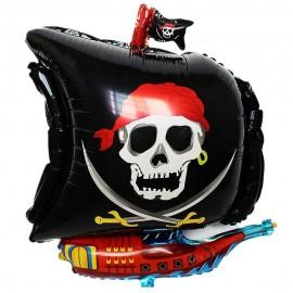 Pirat skib folie ballon