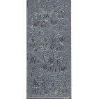 3D stickers med Tommelise i sølv 2067