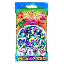 Hama midi perler 1000stk mix 69