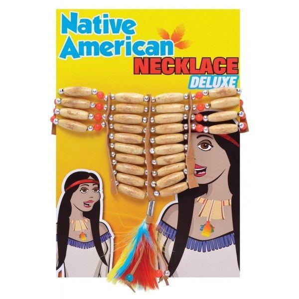 Indianer halskæde