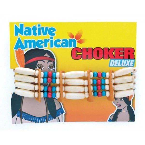 Indianer halssmykke