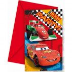 Disney Cars invitationer, 1 stk