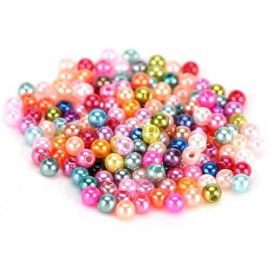 Perler runde 4mm imiteret