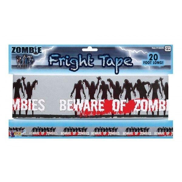 Markeringsbånd med Zombies