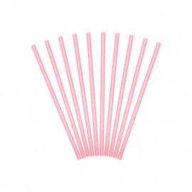Papirsugerør lyserøde