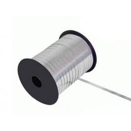 Gavebånd metallic sølv 10m
