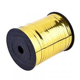 Gavebånd metallic guld 10m