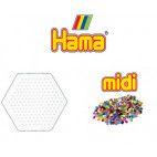Hama perleplade sæt, lille, 400 stk