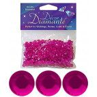 Pynte diamanter 6mm cerise