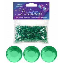Pynte diamanter, Emerald grøn