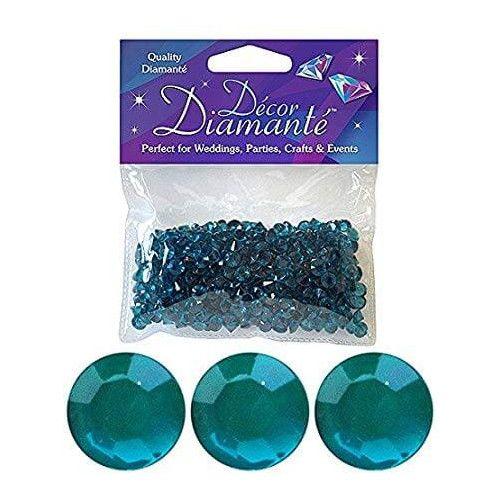 Pynte diamanter, jadegrøn, 6mm