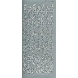 Sticker 2089 rosenbort sølv