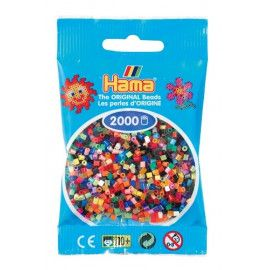Hama midi perler mix 2000 stk