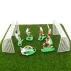 Kagepynt fodbold sæt