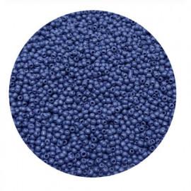 Rocailles perler 11/0 1.8mm navy blå