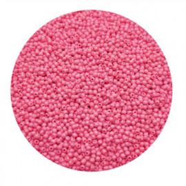 Rocailles perler 11/0 1.8mm lyserøde