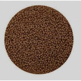 Rocailles perler 11/0 1.8mm lyse brune