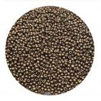 Rocailles perler 11/0 1.8mm guld