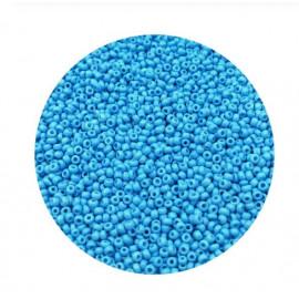 Rocailles perler 11/0 1.8mm lyseblå