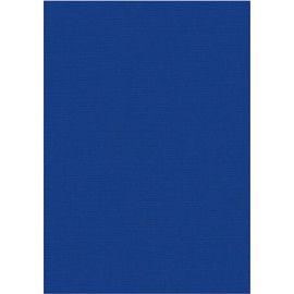 Karton med struktur A4 blå 5 stk