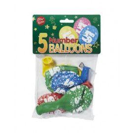 Tal balloner nummer 5