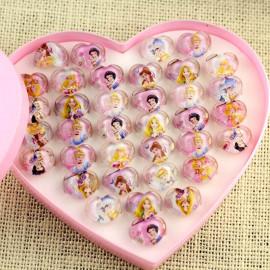 Disney Prinsesser hjerte ringe