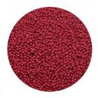 Rocailles perler 11/0 1.8mm mørkerøde
