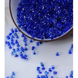 Glasperler 3mm blå