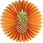 Hawaii dekoration, ananas