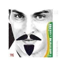 Kunstigt sort diplomat skæg
