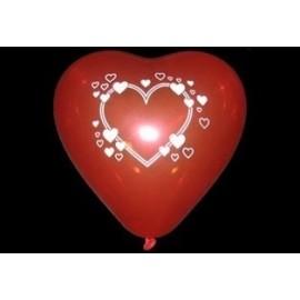 Hjerteformet ballon