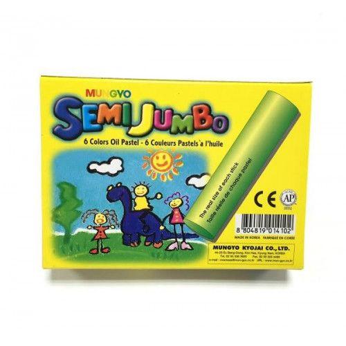 Oliefarver, Mungyo, semi jumbo - 6 farver