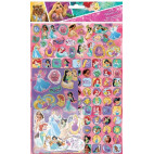 Disney Prinsesser stickers, mega