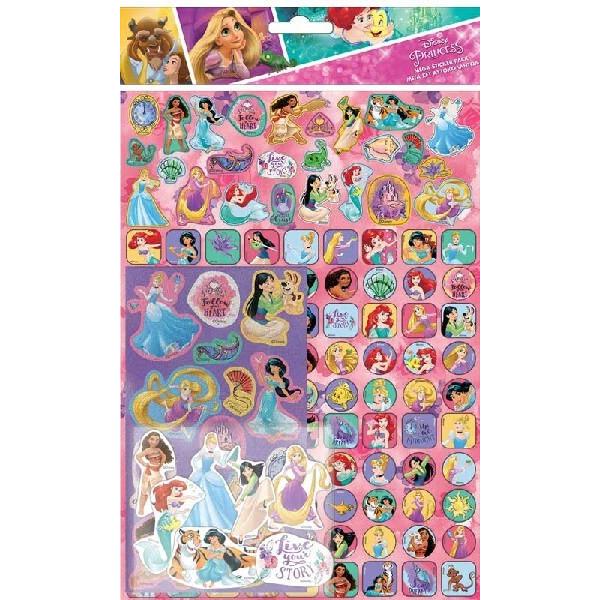Disney Prinsesser stickers, mega
