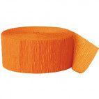 Crepepapir ruller, orange