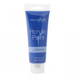 Akrylmaling blå 120ml