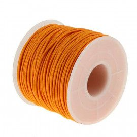 Elastiksnor orange 1,2mm 25 meter