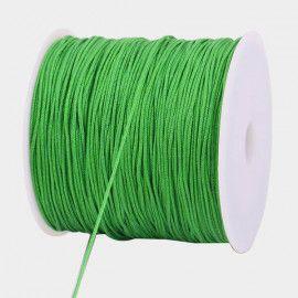 Elastiksnor grøn 1,2mm 25 meter