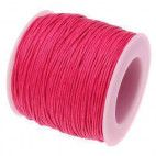 Elastiksnor pink 1,2mm 25 meter