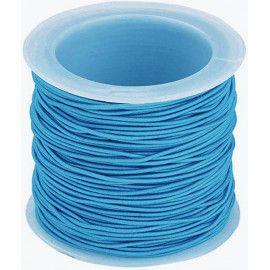 Elastiksnor blå 1,2mm 25 meter