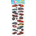 Stickers med sportsvogne