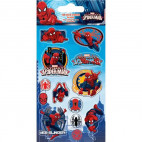Spiderman stickers folie 1 ark