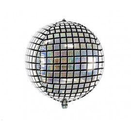 Folie ballon disco kugle 40cm